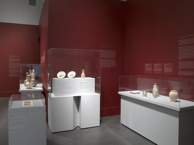 Aesthetic Ambitions: Edward Lycett and Brooklyn's Faience Manufacturing Company, May 3, 2012 through June 16, 2013 (Image: DIG_E_2012_Aesthetic_Ambitions_06_PS4.jpg Brooklyn Museum photograph, 2012)