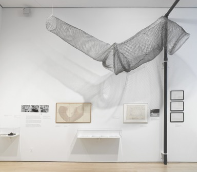 Materializing 'Six Years': Lucy R. Lippard and the Emergence of Conceptual Art. [09/14/2012-02/17/2013]. Installation view.