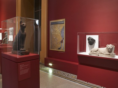 Divine Felines: Cats of Ancient Egypt, July 24, 2013 through November 29, 2015 (Image: DIG_E_2013_Divine_Felines_Cats_of_Ancient_Egypt_004_PS4.jpg Brooklyn Museum photograph, 2013)