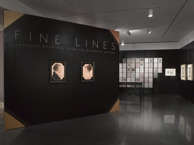 Fine Lines: American Drawings from the Brooklyn Museum, Friday, March 08, 2013 through Sunday, January 18, 2015 (Image: DIG_E_2013_Fine_Lines_002_PS4.jpg Brooklyn Museum photograph, 2013)