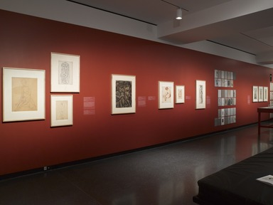 Fine Lines: American Drawings from the Brooklyn Museum, Friday, March 08, 2013 through Sunday, January 18, 2015 (Image: DIG_E_2013_Fine_Lines_006_PS4.jpg Brooklyn Museum photograph, 2013)