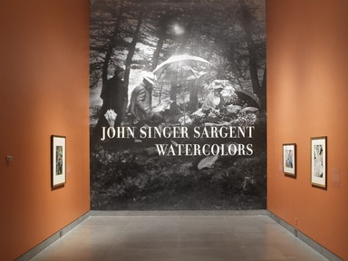 John Singer Sargent Watercolors, April 5, 2013 through July 28, 2013 (Image: DIG_E_2013_John_Singer_Sargent_001_PS4.jpg Brooklyn Museum photograph, 2013)