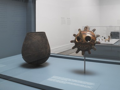 Life, Death, and Transformation in the Americas, Friday, January 18, 2013 through Sunday, November 10, 2019 (Image: DIG_E_2013_Life_Death_and_Transformation_011_PS4.jpg Brooklyn Museum photograph, 2013)