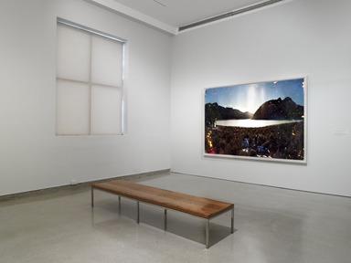 Matthew Brandt: Sylvan Lake, SD1, July 24, 2013 through January 26, 2014 (Image: DIG_E_2013_Matthew_Brandt_001_PS4.jpg Brooklyn Museum photograph, 2013)