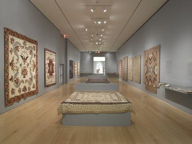 'Workt by Hand': Hidden Labor and Historical Quilts, March 15, 2013 through September 15, 2013 (Image: DIG_E_2013_Workt_by_Hand_001_PS4.jpg Brooklyn Museum photograph, 2013)