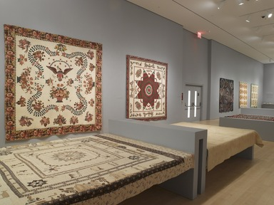 'Workt by Hand': Hidden Labor and Historical Quilts, March 15, 2013 through September 15, 2013 (Image: DIG_E_2013_Workt_by_Hand_003_PS4.jpg Brooklyn Museum photograph, 2013)