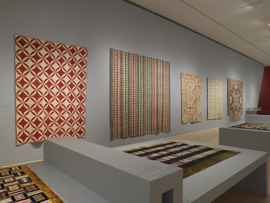 'Workt by Hand': Hidden Labor and Historical Quilts, March 15, 2013 through September 15, 2013 (Image: DIG_E_2013_Workt_by_Hand_007_PS4.jpg Brooklyn Museum photograph, 2013)
