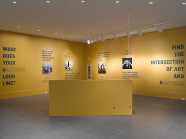 Activism Season, March 07, 2014 through August 24, 2014 (Image: DIG_E_2014_Activism_001_PS9.jpg Brooklyn Museum photograph, 2014)