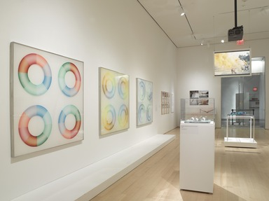 Chicago in L.A.: Judy Chicago's Early Work, 1963-74, April 4, 2014 through Sept. 28, 2014 (Image: DIG_E_2014_Chicago_in_LA_005_PS9.jpg Brooklyn Museum photograph, 2014)