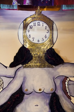 Chitra Ganesh: Eyes of Time, December 12, 2014 through July 12, 2015 (Image: DIG_E_2014_Chitra_Ganesh_Eyes_of_Time_03_PS8.jpg Brooklyn Museum photograph, 2014)