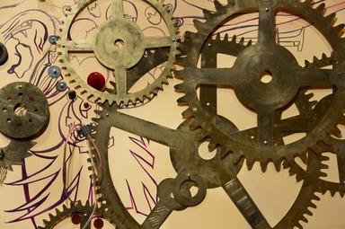 Chitra Ganesh: Eyes of Time, December 12, 2014 through July 12, 2015 (Image: DIG_E_2014_Chitra_Ganesh_Eyes_of_Time_15_PS8.jpg Brooklyn Museum photograph, 2014)