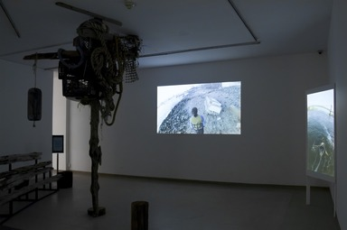 Crossing Brooklyn: Art from Bushwick, Bed-Stuy, and Beyond, October 3, 2014 through January 4, 2015 (Image: DIG_E_2014_Crossing_Brooklyn_20_PS8.jpg Brooklyn Museum photograph, 2014)