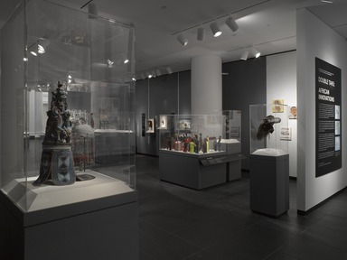 Double Take: African Innovations, October 29, 2014 through March 19, 2017 (Image: DIG_E_2014_Double_Take_African_Innovations_02_PS4.jpg Brooklyn Museum photograph, 2014)