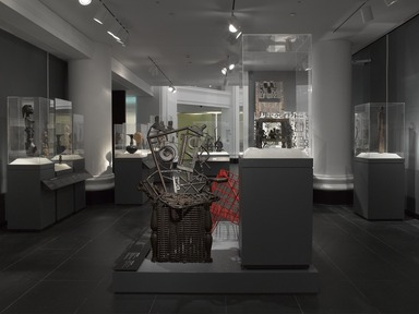 Double Take: African Innovations, October 29, 2014 through March 19, 2017 (Image: DIG_E_2014_Double_Take_African_Innovations_05_PS4.jpg Brooklyn Museum photograph, 2014)