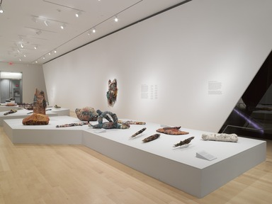 Judith Scott--Bound and Unbound, October 24, 2014 through March 29, 2015 (Image: DIG_E_2014_Judith_Scott_Bound_and_Unbound_002_PS4.jpg Brooklyn Museum photograph, 2014)