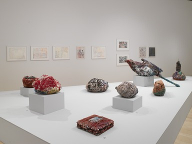 Judith Scott--Bound and Unbound, October 24, 2014 through March 29, 2015 (Image: DIG_E_2014_Judith_Scott_Bound_and_Unbound_010_PS4.jpg Brooklyn Museum photograph, 2014)