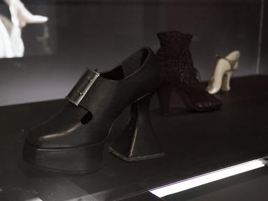 Killer Heels: The Art of the High-Heeled Shoe, September 10, 2014 through March 1, 2015 (Image: DIG_E_2014_Killer_Heels_021_PS8.jpg Brooklyn Museum photograph, 2014)