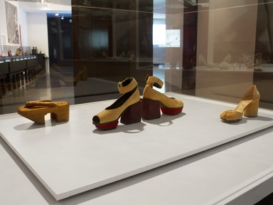 Killer Heels: The Art of the High-Heeled Shoe, September 10, 2014 through March 1, 2015 (Image: DIG_E_2014_Killer_Heels_033_PS8.jpg Brooklyn Museum photograph, 2014)