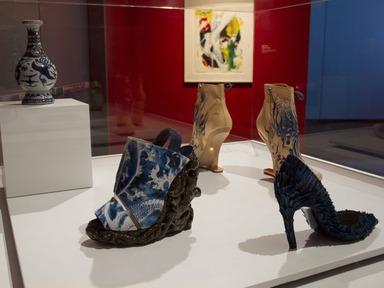 Killer Heels: The Art of the High-Heeled Shoe, September 10, 2014 through March 1, 2015 (Image: DIG_E_2014_Killer_Heels_037_PS8.jpg Brooklyn Museum photograph, 2014)