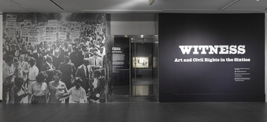 Witness: Art and Civil Rights in the Sixties, March 7, 2014 through July 13, 2014 (Image: DIG_E_2014_Witness_001_PS9.jpg Brooklyn Museum photograph, 2014)