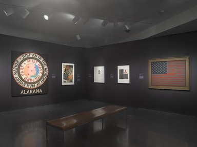 Witness: Art and Civil Rights in the Sixties, March 7, 2014 through July 13, 2014 (Image: DIG_E_2014_Witness_016_PS9.jpg Brooklyn Museum photograph, 2014)