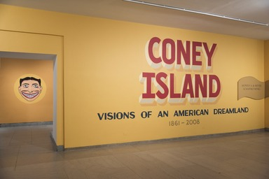 Coney Island: Visions of an American Dreamland, 1861–2008, January 31, 2015 through September 11, 2016 (Image: DIG_E_2015_Coney_Island_Visions_01_PS11.jpg Brooklyn Museum photograph, 2015)