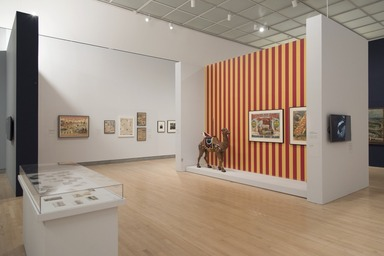 Coney Island: Visions of an American Dreamland, 1861–2008, January 31, 2015 through September 11, 2016 (Image: DIG_E_2015_Coney_Island_Visions_12_PS11.jpg Brooklyn Museum photograph, 2015)
