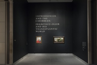 Impressionism and the Caribbean: Francisco Oller and his Transatlantic World, October 2, 2015 through January 3, 2016 (Image: DIG_E_2015_Impressionism_and_the_Caribbean_Oller_01_PS11.jpg Brooklyn Museum photograph, 2015)
