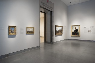 Impressionism and the Caribbean: Francisco Oller and his Transatlantic World, October 2, 2015 through January 3, 2016 (Image: DIG_E_2015_Impressionism_and_the_Caribbean_Oller_16_PS11.jpg Brooklyn Museum photograph, 2015)