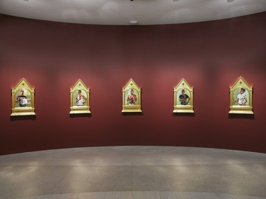 Kehinde Wiley: A New Republic, February 20, 2015 through May 24, 2015 (Image: DIG_E_2015_Kehinde_Wiley_01_PS4.jpg Brooklyn Museum photograph, 2015)