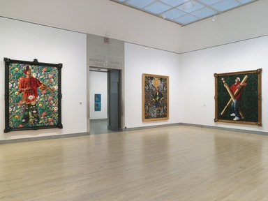 Kehinde Wiley: A New Republic, February 20, 2015 through May 24, 2015 (Image: DIG_E_2015_Kehinde_Wiley_10_PS4.jpg Brooklyn Museum photograph, 2015)
