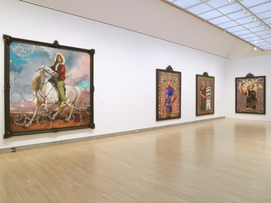 Kehinde Wiley: A New Republic, February 20, 2015 through May 24, 2015 (Image: DIG_E_2015_Kehinde_Wiley_14_PS4.jpg Brooklyn Museum photograph, 2015)