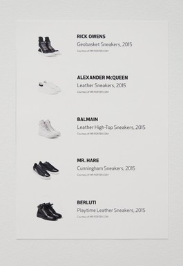 The Rise of Sneaker Culture, July 10, 2015 through October 4, 2015 (Image: DIG_E_2015_The_Rise_of_Sneaker_Culture_33_PS11.jpg Brooklyn Museum photograph, 2015)
