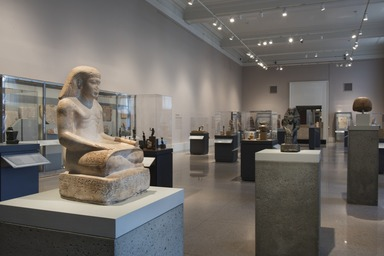 Ancient Egyptian Art. [04/8/2016---/--/20--]. Installation view