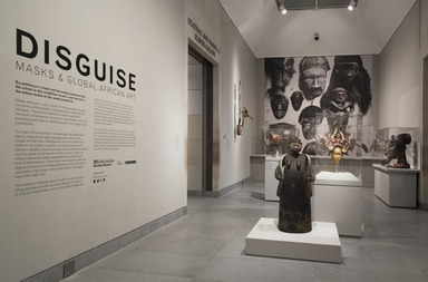 Disguise: Masks and Global African Art, April 29, 2016 through September 18, 2016 (Image: DIG_E_2016_Disguise_02_PS11.jpg Brooklyn Museum photograph, 2016)