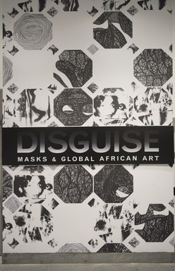 Disguise: Masks and Global African Art, April 29, 2016 through September 18, 2016 (Image: DIG_E_2016_Disguise_prelim_01_PS11.jpg Brooklyn Museum photograph, 2016)