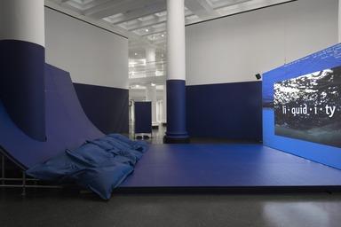 Infinite Blue, November 25, 2016 through November 05, 2018 (Image: DIG_E_2016_Infinite_Blue_01_PS11.jpg Brooklyn Museum, Brooklyn, New York. (Photo: Jonathan Dorado) photograph, 2016)