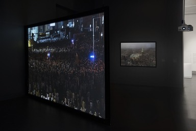 Ahmed Mater: Mecca Journeys, Friday, December 01, 2017 through Sunday, June 17, 2018 (Image: DIG_E_2017_Ahmed_Mater_01_PS11.jpg Brooklyn Museum photograph, 2017)