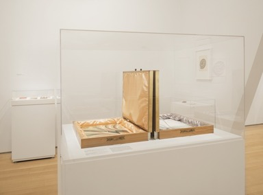 """Roots of """"The Dinner Party"""": History in the Making, October 20, 2017 through March 04, 2018 (Image: DIG_E_2017_Roots_of_the_Dinner_Party_09_PS11.jpg Brooklyn Museum photograph, 2017)"""