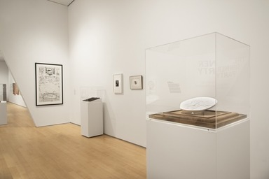 """Roots of """"The Dinner Party"""": History in the Making. [10/27/2017-03/04/2018]. Installation View."""