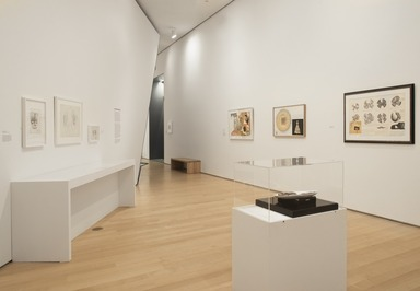 """Roots of """"The Dinner Party"""": History in the Making, October 20, 2017 through March 04, 2018 (Image: DIG_E_2017_Roots_of_the_Dinner_Party_17_PS11.jpg Brooklyn Museum photograph, 2017)"""