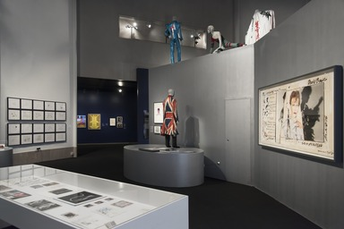 David Bowie is, March 2, 2018 through July 15, 2018 (Image: DIG_E_2018_David_Bowie_is_15_PS11.jpg Brooklyn Museum photograph, 2018)