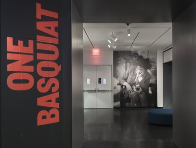 One Basquiat, January 26 through March 11, 2018 (Image: DIG_E_2018_One_Basquiat_01_PS11.jpg Brooklyn Museum photograph, 2018)