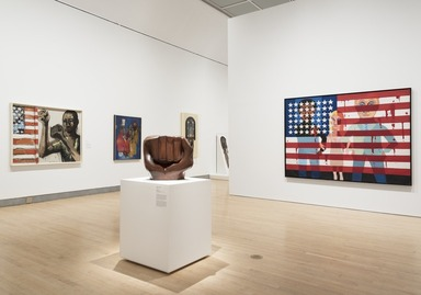 Soul of a Nation: Art in the Age of Black Power, Friday, September 14, 2018 through Sunday, February 03, 2019 (Image: DIG_E_2018_Soul_Of_A_Nation_07_PS11.jpg Photo: Jonathan Dorado photograph, 2018)