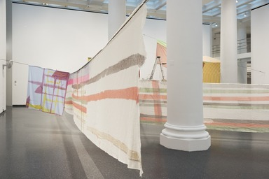 Eric N. Mack: Lemme walk across the room, Friday, January 11, 2019 through Sunday, August 04, 2019 (Image: DIG_E_2019_Eric_N_Mack_04_PS11.jpg Brooklyn Museum. photograph, 2019)