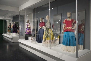 Installation View, Frida Kahlo: Appearances Can Be Deceiving, Brooklyn Museum, February 2, 2019 - May 12, 2019. (Photo: Jonathan Dorado)