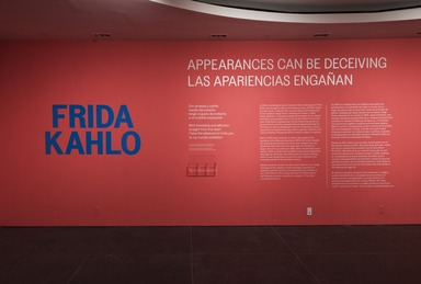 Frida Kahlo: Appearances Can Be Deceiving, Friday, February 08, 2019 through Sunday, May 12, 2019 (Image: DIG_E_2019_Frida_Kahlo_10_PS11.jpg Brooklyn Museum. (Photo: Jonathan Dorado) photograph, 2019)