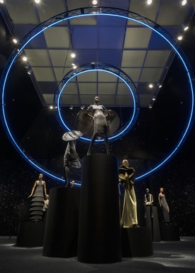 Pierre Cardin: Future Fashion, Saturday, July 20, 2019 through Sunday, January 05, 2020 (Image: DIG_E_2019_Pierre_Cardin_06_PS11.jpg Photo: Jonathan Dorado photograph, 2019)