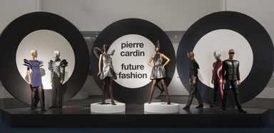 Pierre Cardin: Future Fashion, Saturday, July 20, 2019 through Sunday, January 05, 2020 (Image: DIG_E_2019_Pierre_Cardin_12_PS11.jpg Photo: Jonathan Dorado photograph, 2019)