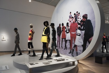 Pierre Cardin: Future Fashion, Saturday, July 20, 2019 through Sunday, January 05, 2020 (Image: DIG_E_2019_Pierre_Cardin_16_PS11.jpg Photo: Jonathan Dorado photograph, 2019)